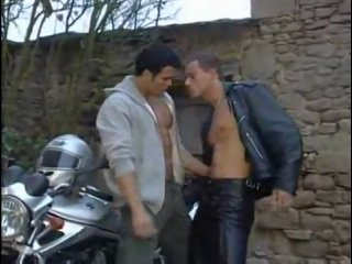 Leather Biker Make Love...